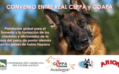 Convenio formación Criadores Real CEPPA y COAPA