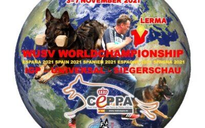 Figurantes Campeonatos WUSV IP, UNIVERSAL y SIEGERSCHAU 2021